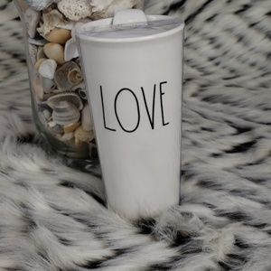 "Rae Dunn ""LOVE"" Tavel Mug"